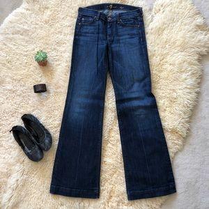 Vintage 7 for all mankind dojo flare jeans